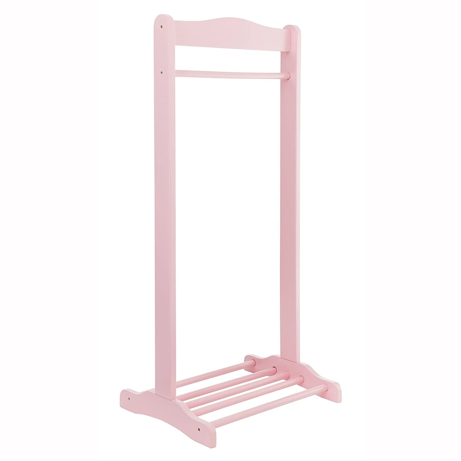Solo Hanging Rail (Baby Pink) Izziwotnot SOLO-BABYPINK