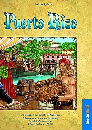 Giochi Uniti Puerto Rico - Juego de mesa (en italiano): Amazon.es: Juguetes y juegos
