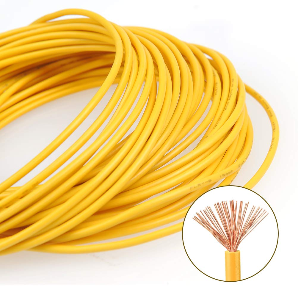 TIMESETL 5Pcs 1 5 mm² FLRY-B Single Core Automotive Wire for