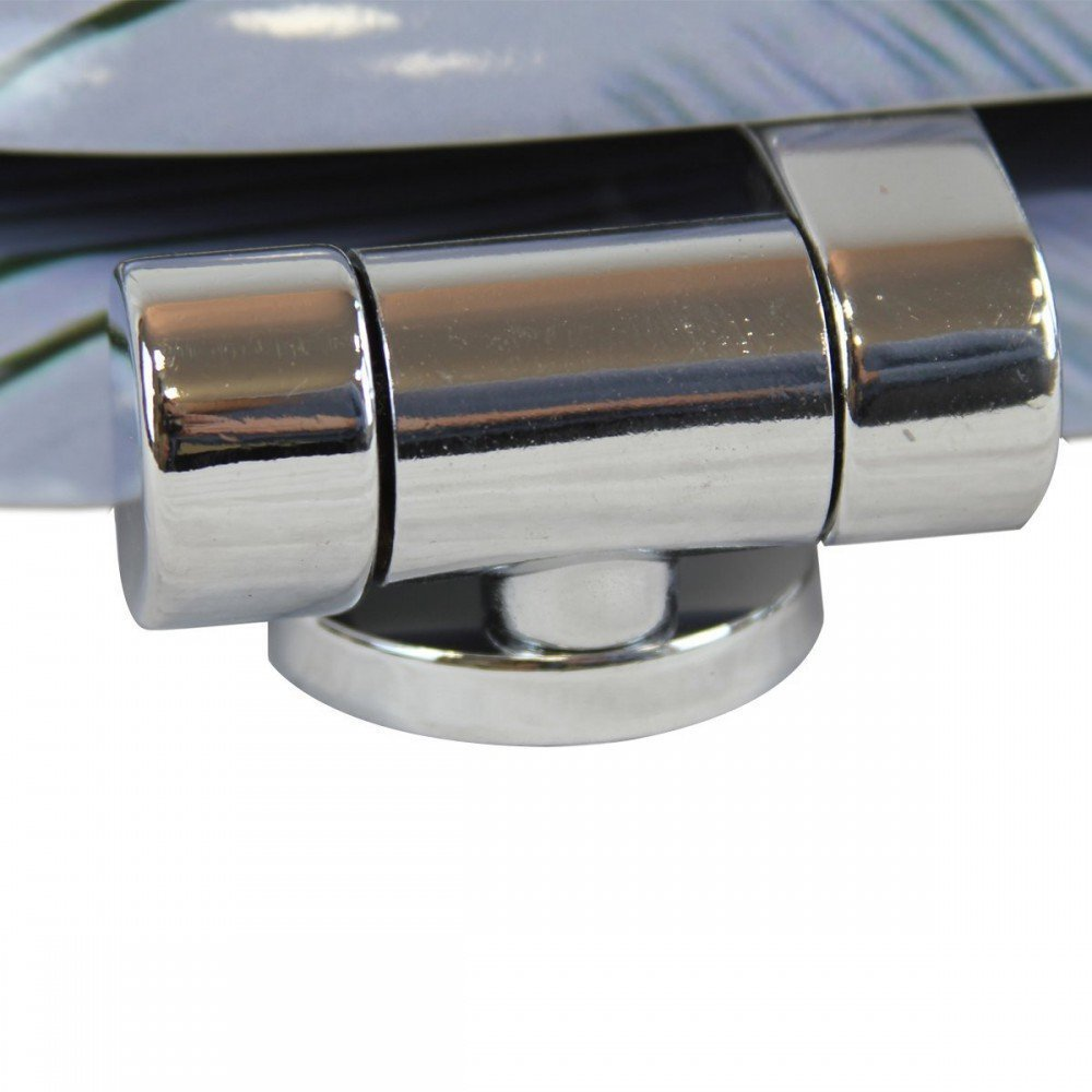 Asiento de inodoro 1Plus Premium con descenso autom/ático y bisagras galvanizadas varios dise/ños disponibles