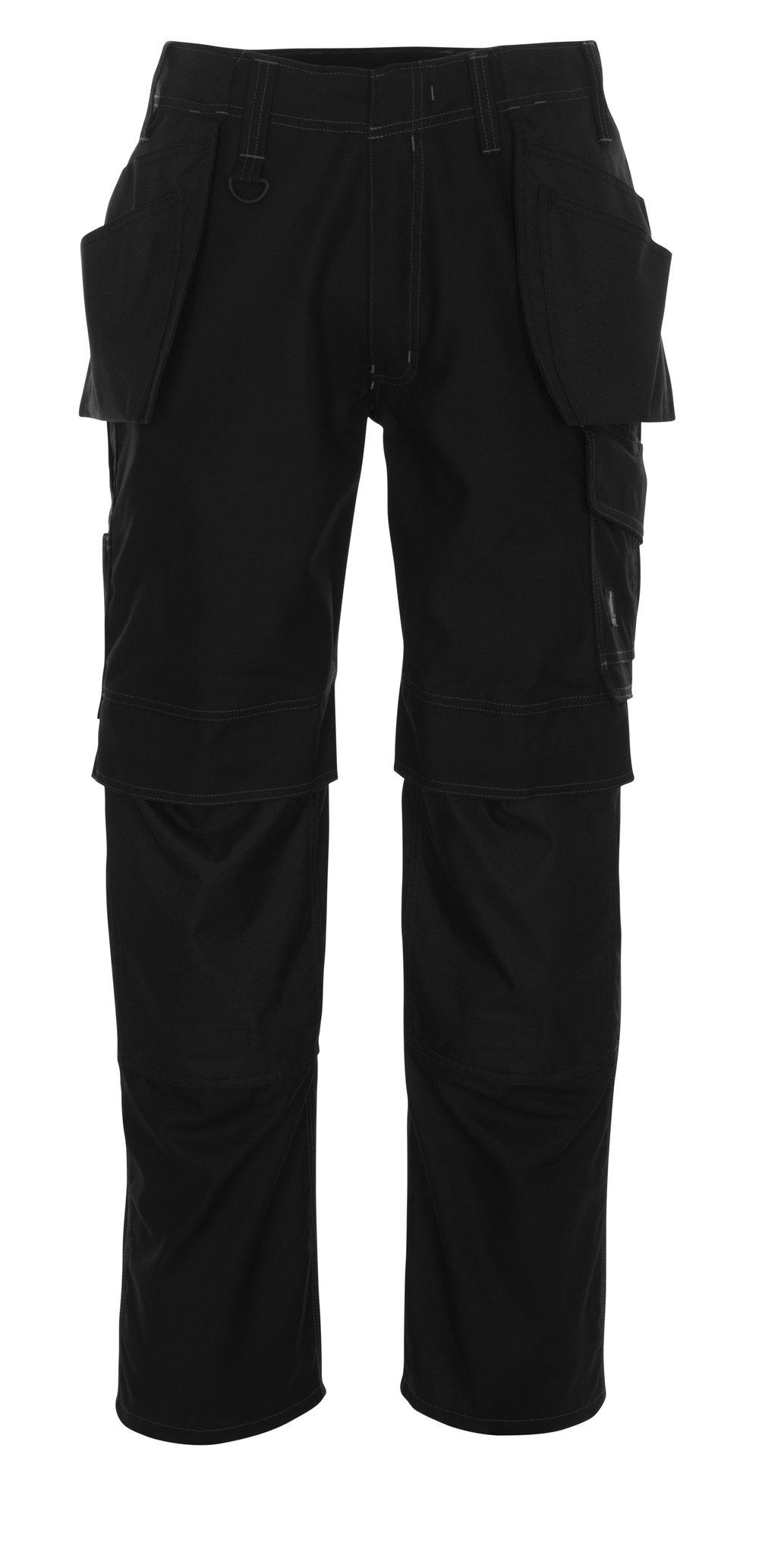 Mascot 10131-154-09-90C52''Springfield'' Craftsmen's Trousers, L90cm/C52, Black