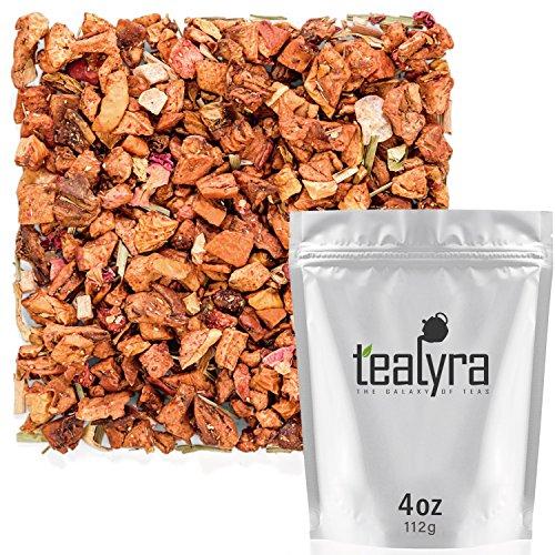 Tealyra - Aloha Sweet Guava - Lemongrass - Strawberry - Fruity Loose Leaf Tea - Vitamines Rich - Hot and Iced Tea - Caffeine Free - All Natural - 112g (4-ounce)