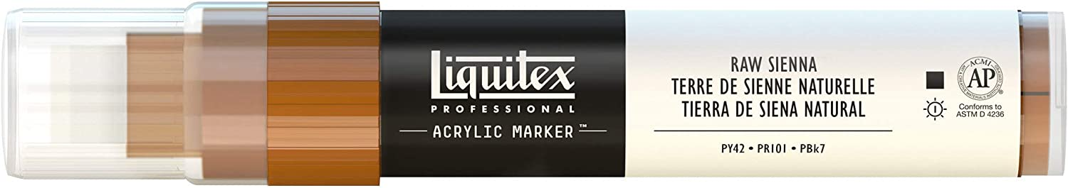Liquitex Professional Paint Marker with 8-15 mm Wide Nib Neutral Gray 5