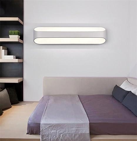 Modern Minimalist 48W LED Metal Wall Lamp Creative Bedroom Living Awesome Light Purple Bedrooms Minimalist Decoration