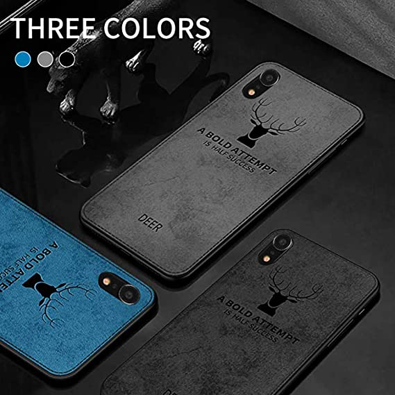 Wawer Carcasa iPhone XR, ultr-Tine 3D Deer Impresora Case Cover ...