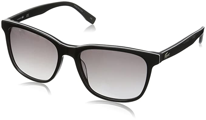Lacoste L833S 001 55 Gafas de Sol, Black, Unisex-niños ...