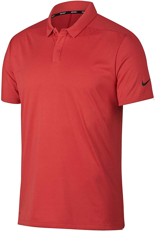 Nike Men's Dri-Fit Breathe Texture Golf Polo Shirt