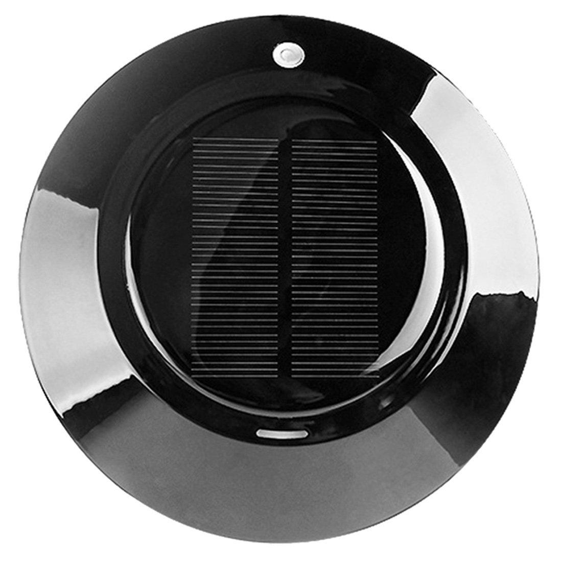 ACS UFO-Solar Energy Car Use Air Cleaner Anion PM2.5 Air Purifier (Black)
