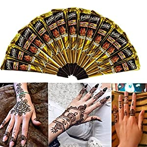 Temporary Tattoos - Black Natural Cone Temporary Tattoo Art Tattoos - Strobile Retinal Conoid Shape Cell - 1PCs