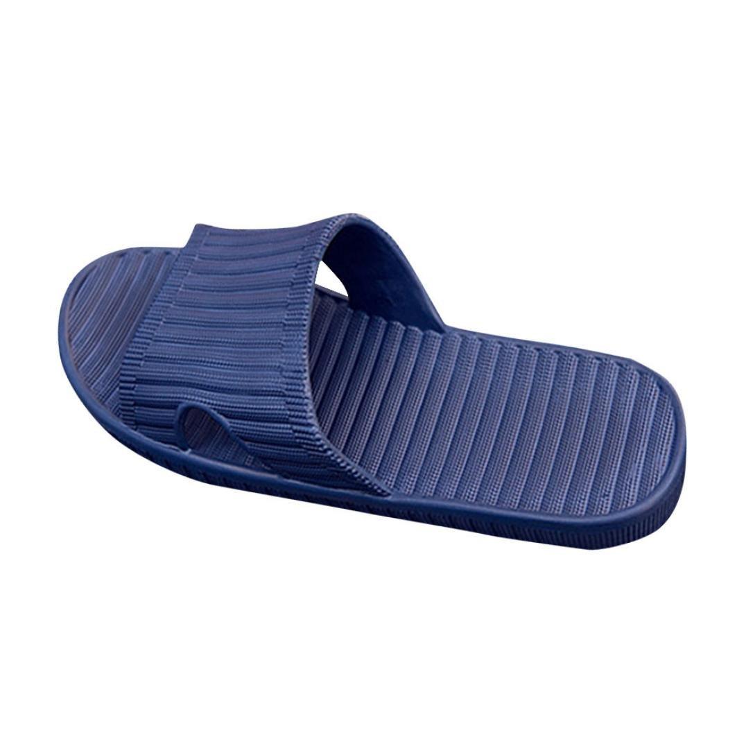 QinMM Hommes Anti Skid ménage Tongs Chaussures, Pantoufles pour Maisons Piscine Plage Sandales