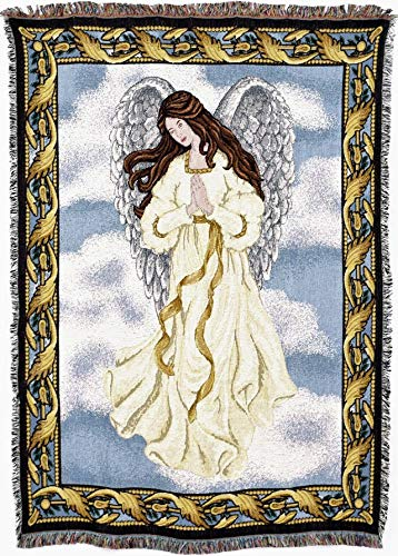 Amazon Pure Country Weavers Guardian Angel 40 Blanket Tapestry Enchanting Guardian Angel Throw Blanket