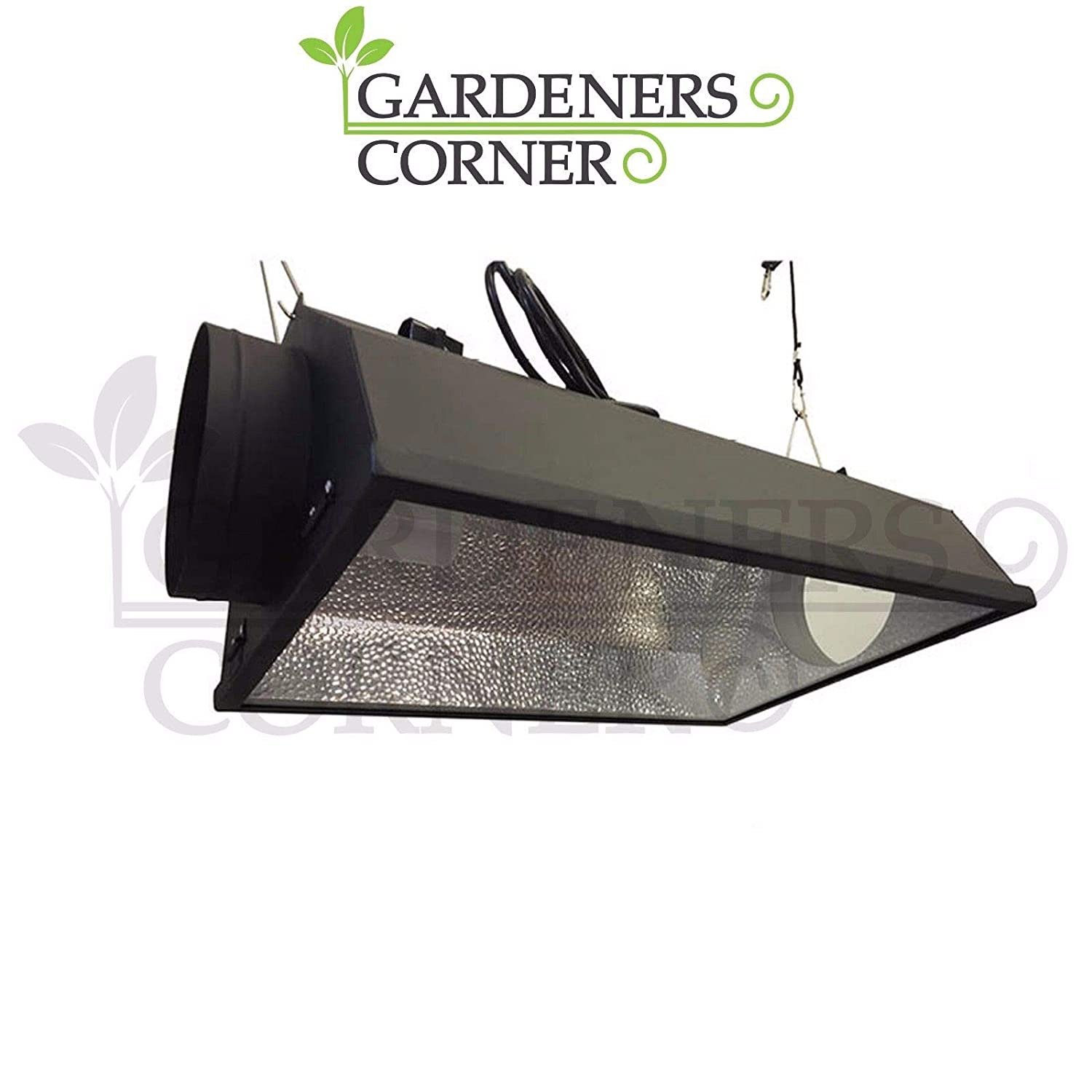 "Hydroponics 6"" Inch 150mm Coolshade Air Cooled Reflector Shade Grow Light Hood ACI"