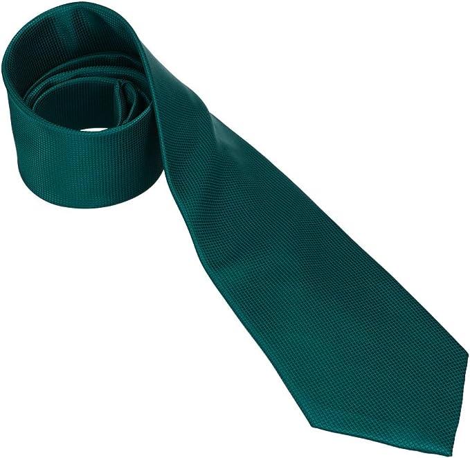 CHARRO Corbata hombre elegante verde petróleo diamantina color ...