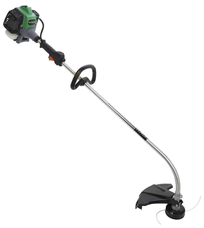 Hitachi CG22EABSLP 21.1cc 2 stroke Gas Powered Curved Shaft Grass Trimmer CARB Compliant