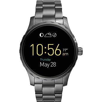 Fossil Gen 2 Smartwatch Q Marshal Smoke - Reloj de pulsera (acero ...