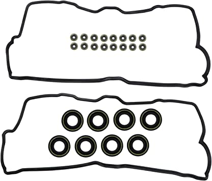 DNJ Valve Cover Gasket With Grommets VC970G For 90-97 Lexus SC400 4.0L V8 DOHC Naturally Aspirated designation 1UZ-FE LS400