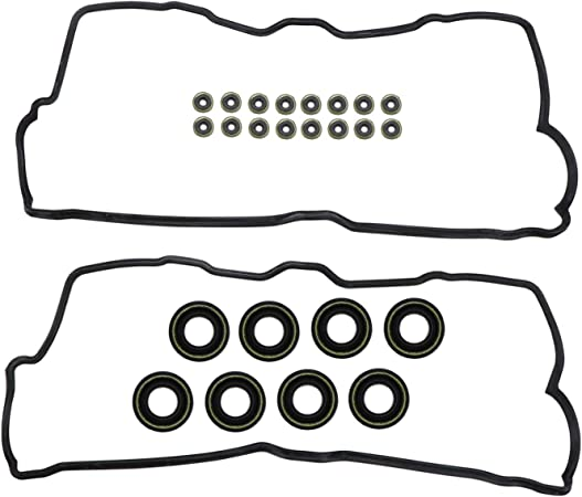 SC400 4.0L V8 DOHC Naturally Aspirated designation 1UZ-FE DNJ Valve Cover Gasket With Grommets VC970G For 90-97 Lexus LS400