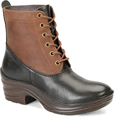 Bionica Womens Roker 106 oz Toscana Leather Boots       Black Barista  6
