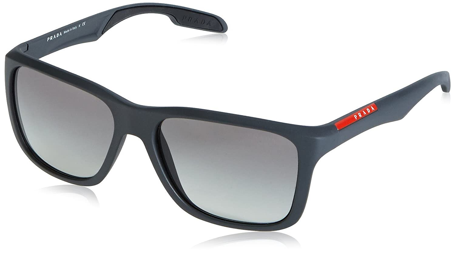 3d204686f4 ... canada amazon prada sport sunglasses ps04os frame dark grey lens grey  gradient prada shoes dded9 4cfbe