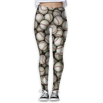 Besioo Yoga Pants Vintage Tour Tummy Control Workout Printed Capris Leggings