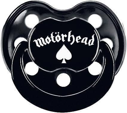 Motörhead Logo Chupete Negro 0-6 Monate: Amazon.es: Bebé