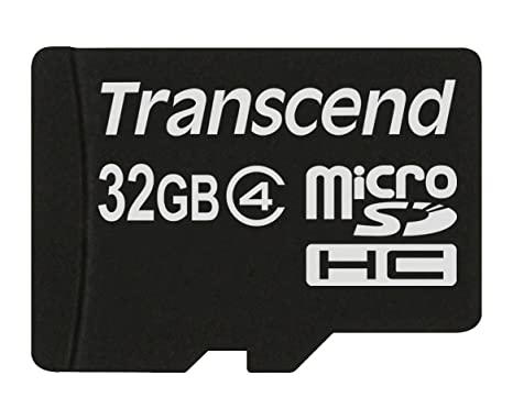 Transcend TS32GUSDC4 - Tarjeta de Memoria Flash Micro SDHC de 32 GB