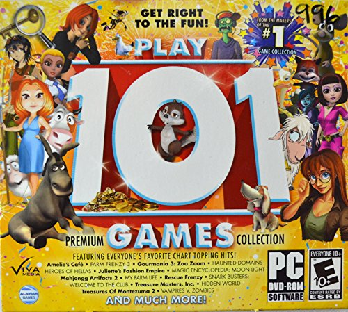 Play 101 Premium Games Collection -