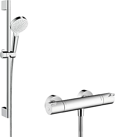 Hansgrohe 27812400 Crometta Vario combinación de set de ducha y ...