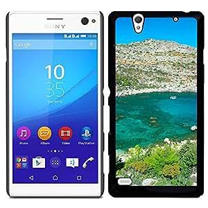 Print Motif Coque de protection Case Cover // V00000314 Anthony Quinn Bay Grecia // Sony Xperia C4 E5303 E5306
