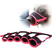 Goofly Dog Pet Muzzle Dog Muzzle Mouth Cover Muzzle Guard for Dogs Prevent Biting Barking