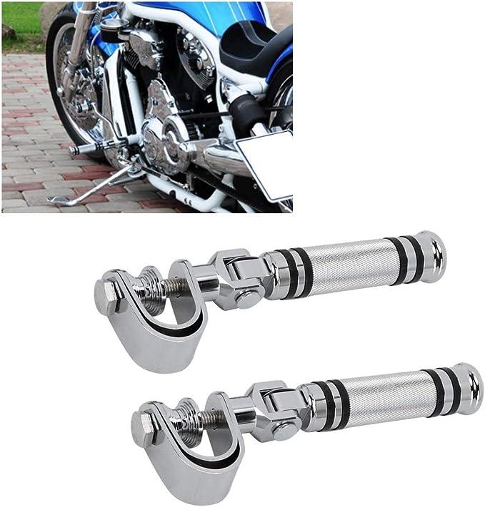 Reposapi/és del Conjunto Trasero De La Motocicleta Universal Tocho De Aluminio Mecanizado CNC Reposapi/és Reposapi/és Pedales para Motocicleta con Juego Trasero De Rosca M8