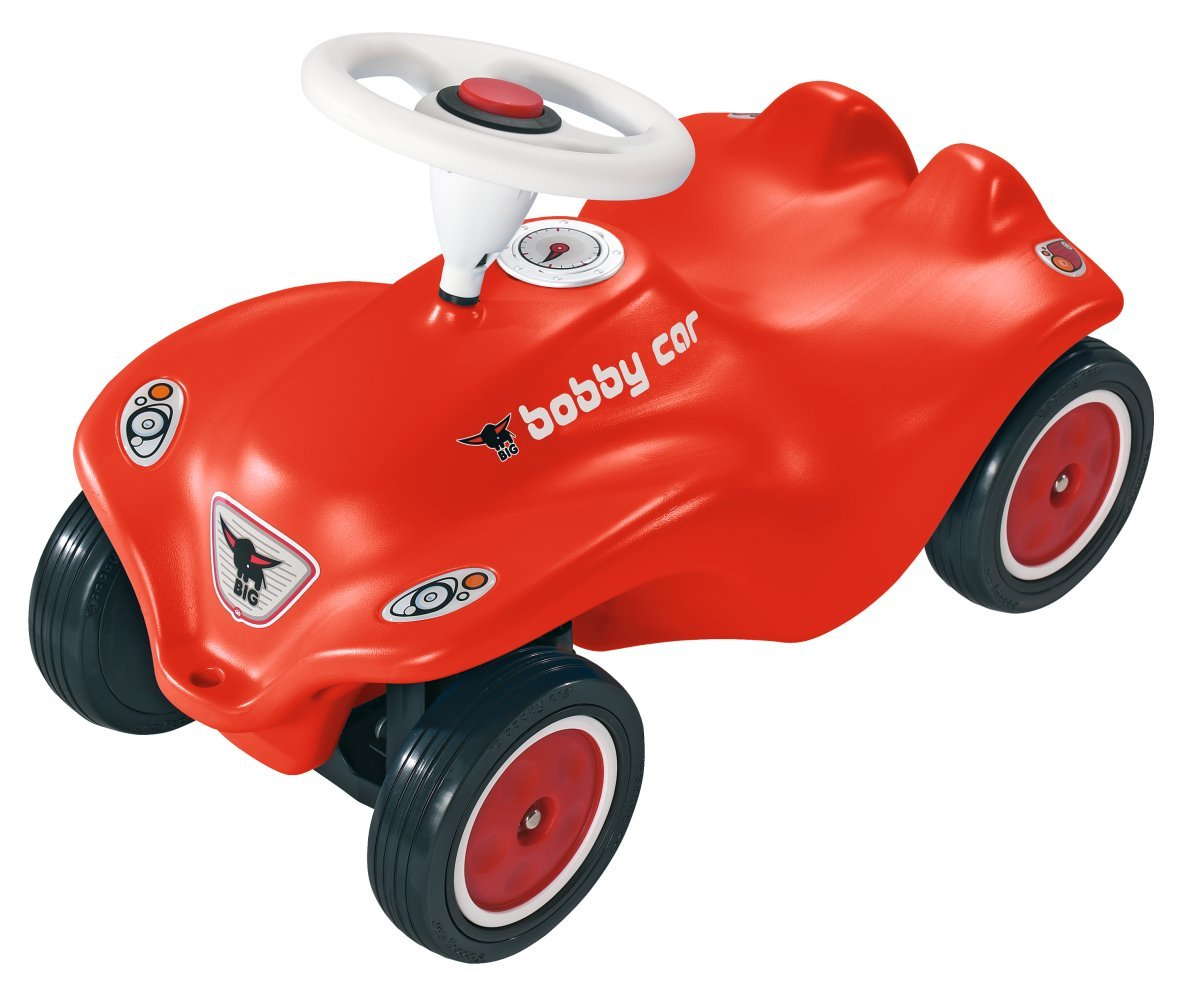 Bobbycar Vergleich - BIG New Bobby-Car, rot