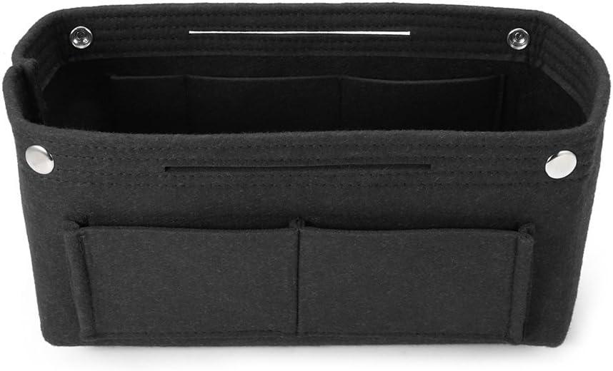 fivekim Multifunction Handbag Organizer Purse Insert Bag Felt Storage Pouch Case Case Storage Bag