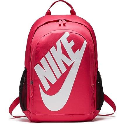 Nike Hayward Futura Bkpk Solid Mochila, Hombre, Blanco/Negro/Rosa (Rush