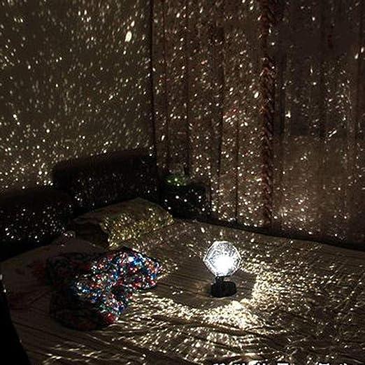 Lámpara de proyección LED Planetario romántico Proyector de ...