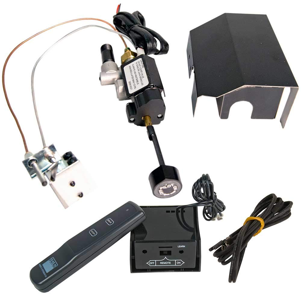 RH Peterson Real Fyre Automatic Safety Pilot Kit APK-17 with Remote, Natural Gas by RealFyre