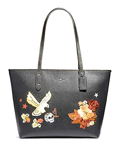 f089533a35 Amazon.com: Coach Limited Edition Embroidered City Zip Tote: Shoes