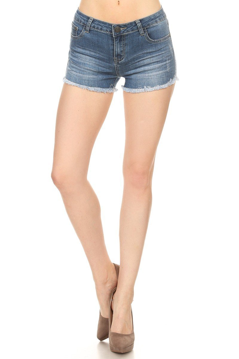 Price Angel Women's Stretchy Denim Short Jeans