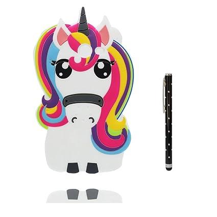 Carcasa Samsung Galaxy J5 2017, [ 3D Cartoon unicornio ...
