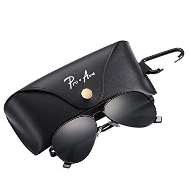 918d9a7ad1 Pro Acme Small Polarized Aviator Sunglasses for Adult Small Face and  Junior