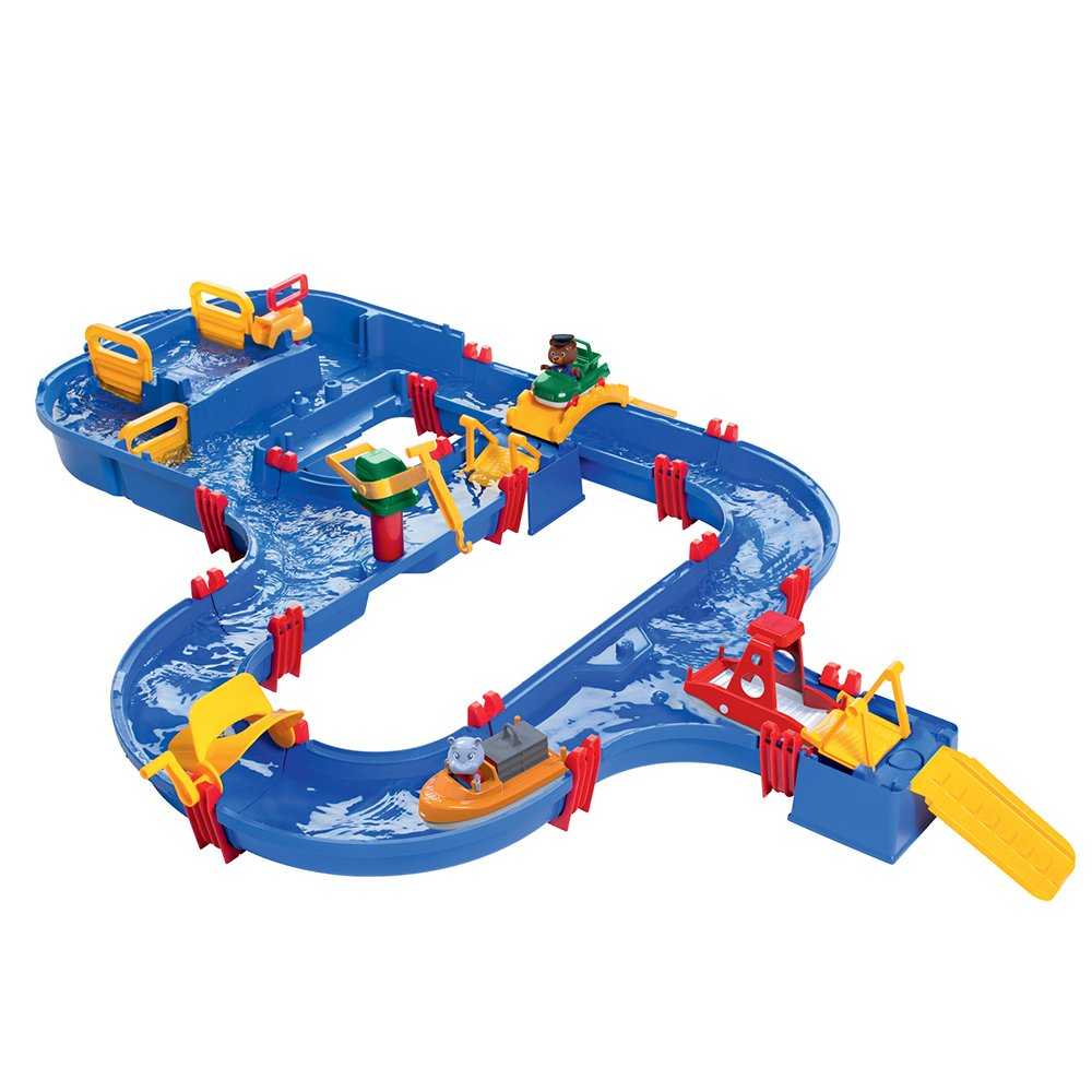 Aquaplay 8700001535 - Wasserbahn Set Aqua World