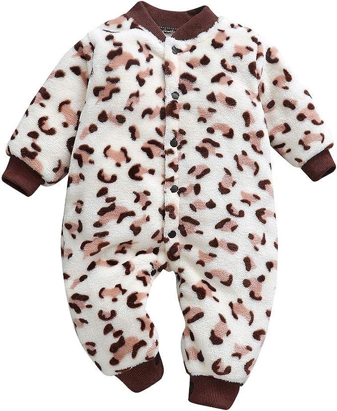 UK Toddler Kids Baby Girl Summer Leopard Romper Bodysuit Jumpsuit Outfit Clothes