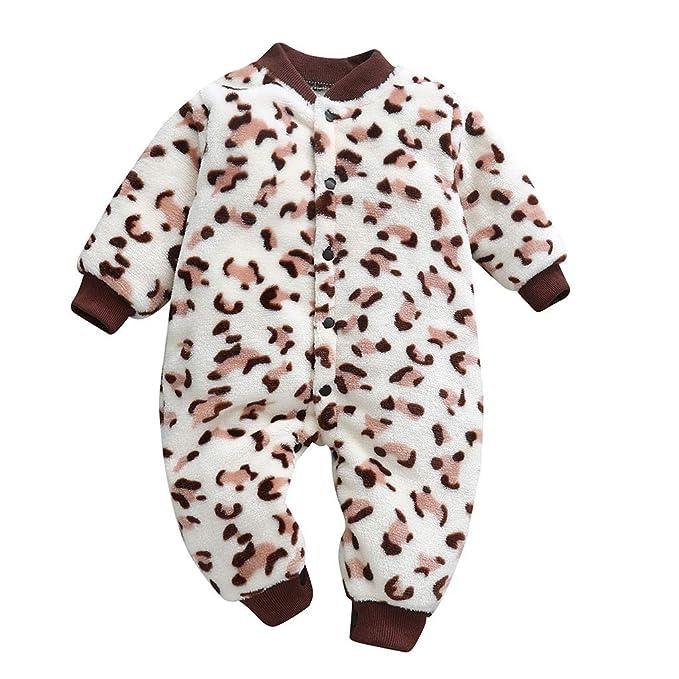 1628b7261 H.eternal Romper Thicken Layette Romper Jumpsuit Outwear Cotton Cute ...