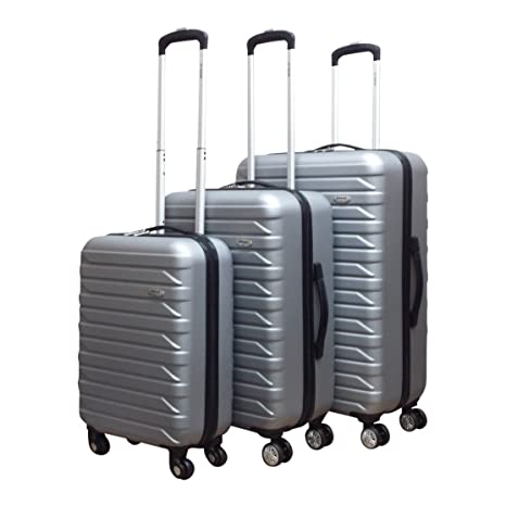 Benzi Juego de maletas, plata (plateado) - BZ-4599