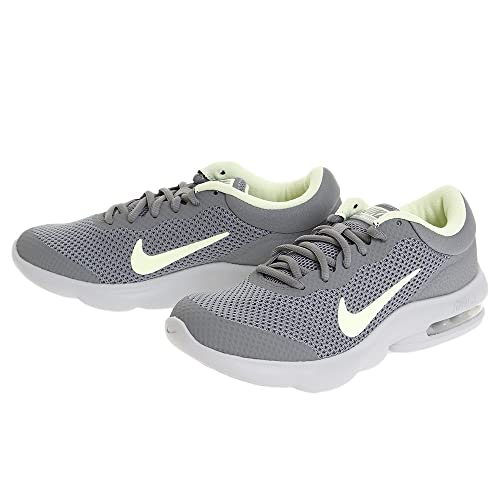 Nike Women s Air Max Advantage Running Shoe Cool Grey Barely Volt Wolf Grey  Size 9287c92aa
