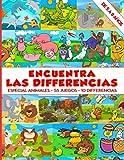 Encuentra las differencias - Especial Animales - 55 Juegos - 10 Differencias - de 5 a 8 años: Libro de actividades para niños | niño y niña | Libro de juego | Mas de 500 differencias | 83 Paginas