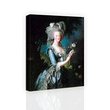 Marie-Antoinette dit « à la Rose » - Famous Oil Painting Reproduction Canvas Print Wall Art for Home Decoration
