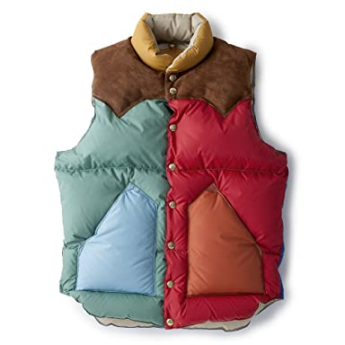 Down Vest Nylon 200-172-01: Multi