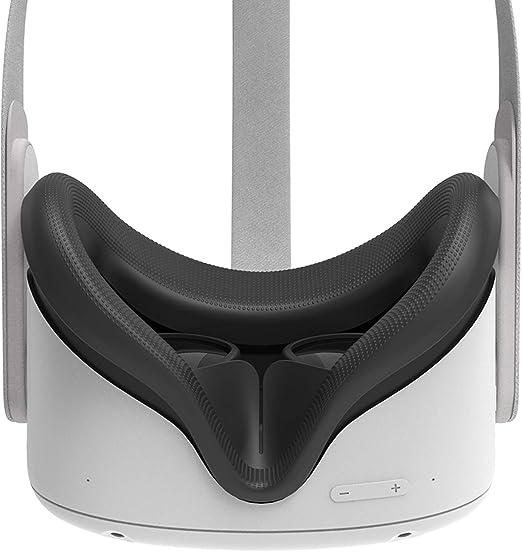 LOVOICE VR Face Cover Protecteur Facial /élargi pour Oculus Quest 2 VR Accessoires pour Oculus Quest 2
