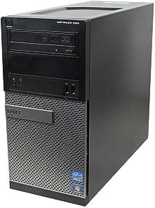 Dell OptiPlex 9010 Tower - Intel Quad Core i7-3770 up to 3.9GHz, 16GB RAM DDR3, 256GB SSD, Windows 10 Pro 64-Bit, WiFi - Desktop (Renewed)
